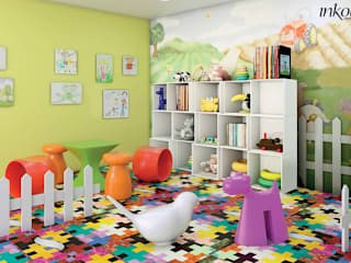 Inkout srl Nursery/kid's roomAccessories & decoration Plastic Multicolored