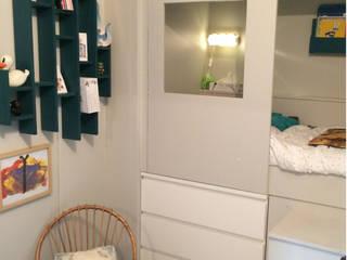 Détail micro chambre: Chambre d'enfant de style  par Laetitia Desmond