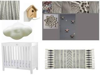 planche d'intentions coin bébé:  de style  par Laetitia Desmond