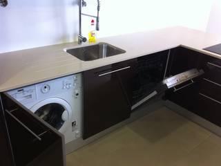 Ansidecor 現代廚房設計點子、靈感&圖片 Brown