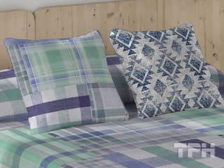Colchas bouti coleccion Naturals - Textil para Hosteleria TPH: Dormitorios de estilo  de TPH fundas de sofá