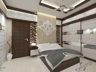 Modern Bedroom by single pencil architects & interior designers Modern