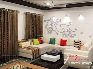 Desig9x Studio Salones de estilo moderno