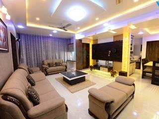 Salones de estilo moderno de V9 - the interior studio Moderno