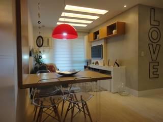 Comedores de estilo  por Maria Helena Torres Arquitetura e Design, Moderno