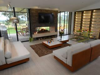 Living room by Kubik Lab