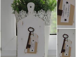 Nachher-Foto - Deko-Objekt aus altem Holzbrettchen:   von Shabby Chic & Co. - Isabell Kruse