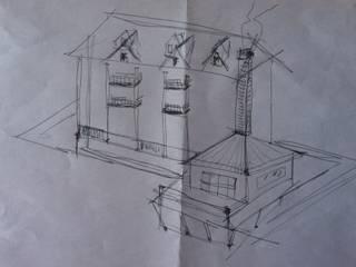Primissimo schizzo:  in stile  di Architetto Giovanni Marra Studio di Progettazione Integrata