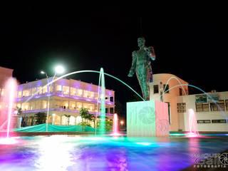 FUENTE DEL GENERAL PADILLA EN EL PARQUE CISNEROS DEL BOULEVARD DE BUENAVENTURA:  de estilo  por WATERVISION COLOMBIA S.A.S.