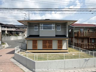山道勉建築 Scandinavian style houses Wood Grey