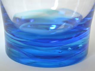 礁ロックグラス: 白神ガラス工房が手掛けた折衷的なです。,オリジナル