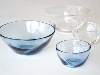 ゆらめきシリーズ: 白神ガラス工房が手掛けた折衷的なです。,オリジナル