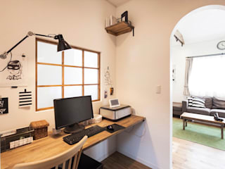 ジャストの家 Studio in stile scandinavo Effetto legno