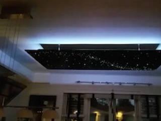 Design ideas Fiber optic light LED star lights ceiling panels art stars on ceiling bathroom bedroom kitchen Mediterrane keukens van MyCosmos Mediterraan