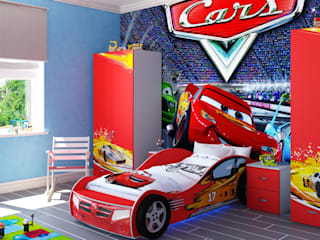 Eclectic style nursery/kids room by Студия дизайна 'New Art' Eclectic