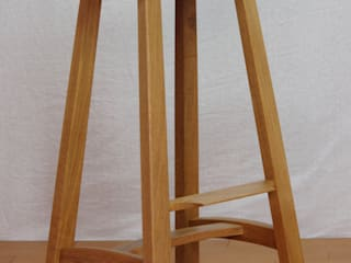 木の家具 quiet furniture of wood Dining roomChairs & benches Kayu