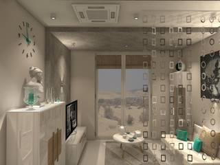 Mały Apartament w Afryce: styl , w kategorii  zaprojektowany przez Wizja Wnętrza - projekty i aranżacje