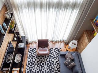 Morumbi Salas de estar modernas por Marina La-Gatta Design de Interiores Moderno