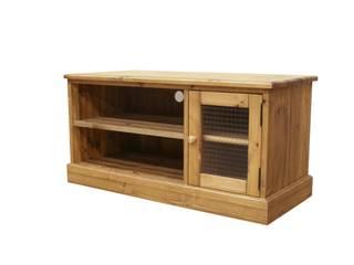 テレビ台: パイン家具工房 okamokuが手掛けたです。