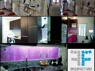 VIVIENDA UNIFAMILIAR -REMODELACION-: Cocinas de estilo moderno por FF Arquitectura - Diseño + Innovación
