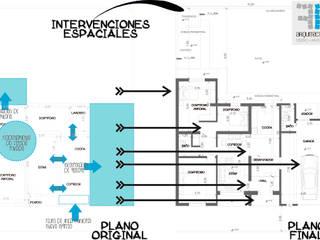 VIVIENDA UNIFAMILIAR -REMODELACION-:  de estilo  por FF Arquitectura - Diseño + Innovación