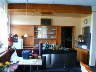 Wandgestaltung Moderne Gastronomie von Resimdo GmbH Modern