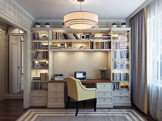 Проект 014: интерьер частного дома Детская комнатa в классическом стиле от студия визуализации и дизайна интерьера '3dm2' Классический