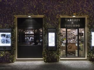 Tartufi&Friends Negozi & Locali commerciali moderni di Cangini e Tucci Moderno