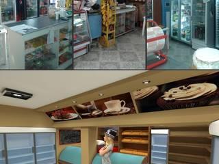 Reforma, cadena de panaderias D|M:  de estilo  por Group Arquitectura Online