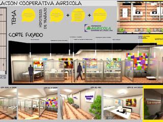 OFICINAS :  de estilo  por FF Arquitectura - Diseño + Innovación