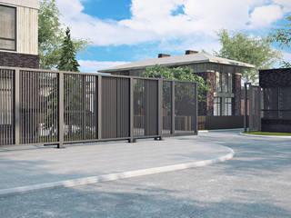 Проект 024: экстерьер дома: Дома в . Автор – студия визуализации и дизайна интерьера '3dm2', Минимализм