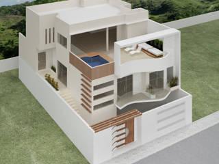 Residência - Jardim Europa Casas modernas por Priscilla Viana Arquitetura Moderno