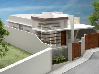 Residência - Paulino Fernandes Casas modernas por Priscilla Viana Arquitetura Moderno