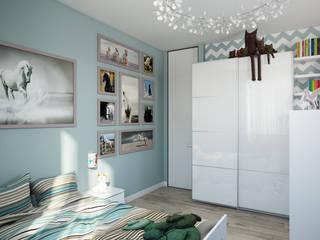 by студия визуализации и дизайна интерьера '3dm2' Minimalist