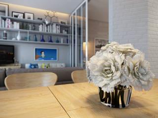 студия визуализации и дизайна интерьера '3dm2' Cocinas de estilo escandinavo