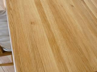Stół, biurko, Industrial White Oak od projekt drewno Minimalistyczny