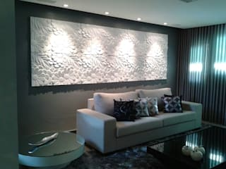 Casa (parceria Eliana Freitas) Salas de estar modernas por Das Haus Interiores - by Sueli Leite & Eliana Freitas Moderno