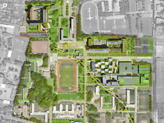ENSEIGNEMENT - CITE SCOLAIRE SUD Ecoles originales par STUDIO D'ARCHITECTURE RANSON-BERNIER Éclectique