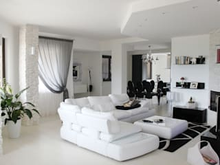 Modern Living Room by OGARREDO Modern