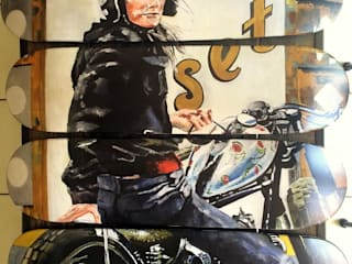 """""""Moto"""" par LILIBOARD Moderne"""