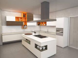 Modern kitchen by Politan Arquitectura+Diseño S.A.S. Modern