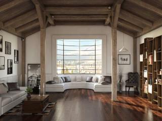 Render asf Modern living room