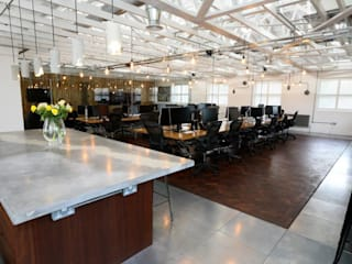 A Contemporary Office Refit at Delete Leeds by Redesign Сучасний