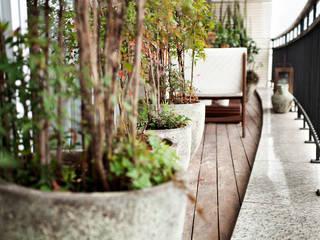 Vanderlei Modern Terrace by Camila Vicari Arquitetura da Paisagem Modern