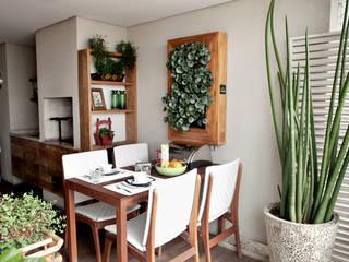 Vanderlei Modern Dining Room by Camila Vicari Arquitetura da Paisagem Modern