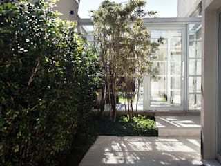 Pinheiros Modern style balcony, porch & terrace by Camila Vicari Arquitetura da Paisagem Modern
