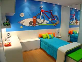 Eliane de Souza Monteiro Nowoczesny pokój dziecięcy od Complementto D Nowoczesny