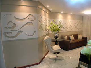 Aline Danielle Barros Complementto D Modern Corridor, Hallway and Staircase