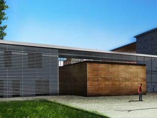ENSEIGNEMENT - CITE SCOLAIRE SUD - LYCEE LOUIS THUILLIER:  de style  par STUDIO D'ARCHITECTURE RANSON-BERNIER