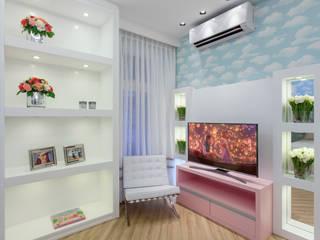Cuartos infantiles de estilo moderno de Designer de Interiores e Paisagista Iara Kílaris Moderno Tablero DM